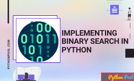 binary search python