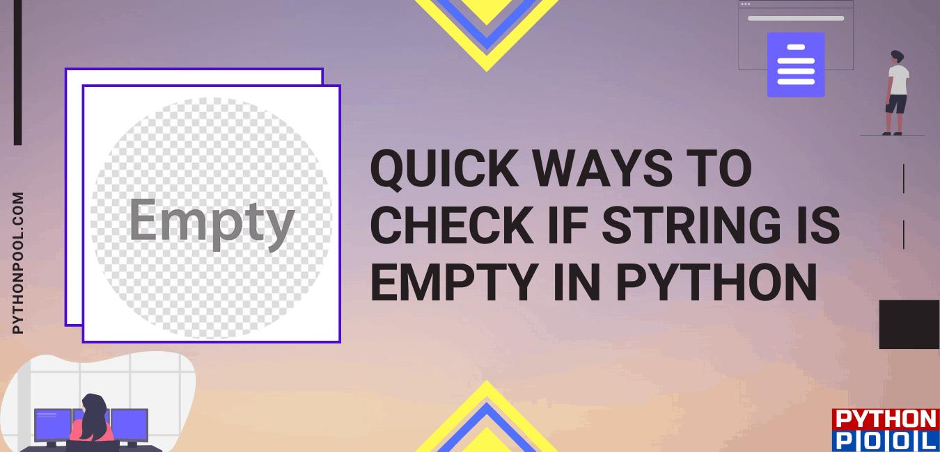 empty string python