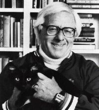 Bradbury and cat