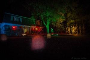 Our house on Halloween