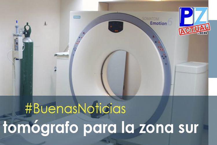Nuevo Servicio de Tomografía del Hospital Escalante Pradilla ya está en funcionamiento.