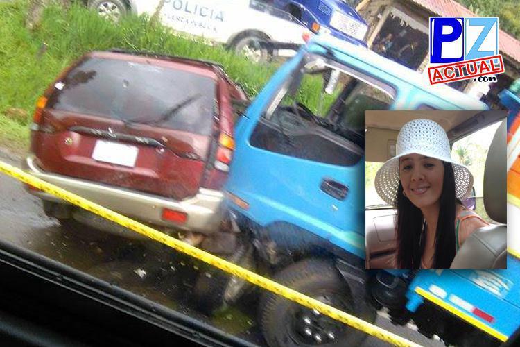 Vecina de Buenos Aires perdió la vida este fin de semana tras sufrir un accidente de tránsito.