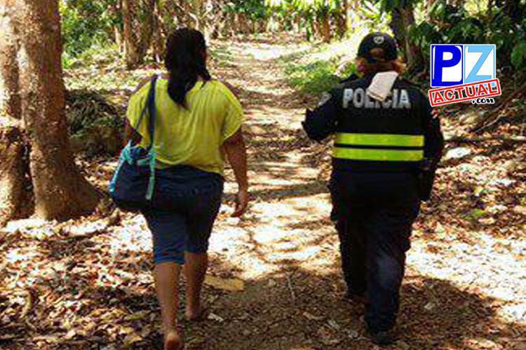 Autoridades aprehenden a pareja por supuesta agresión a menores en Coto Brus.