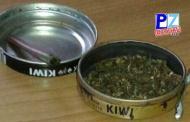 Fuerza Pública incauta droga en caja de betún en Golfito.
