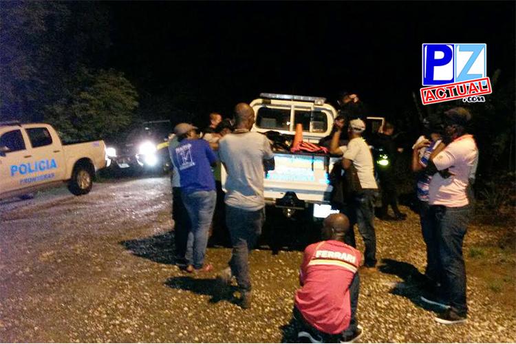 Policía de Fronteras detuvo microbús con nueve africanos en La Gamba de Golfito.