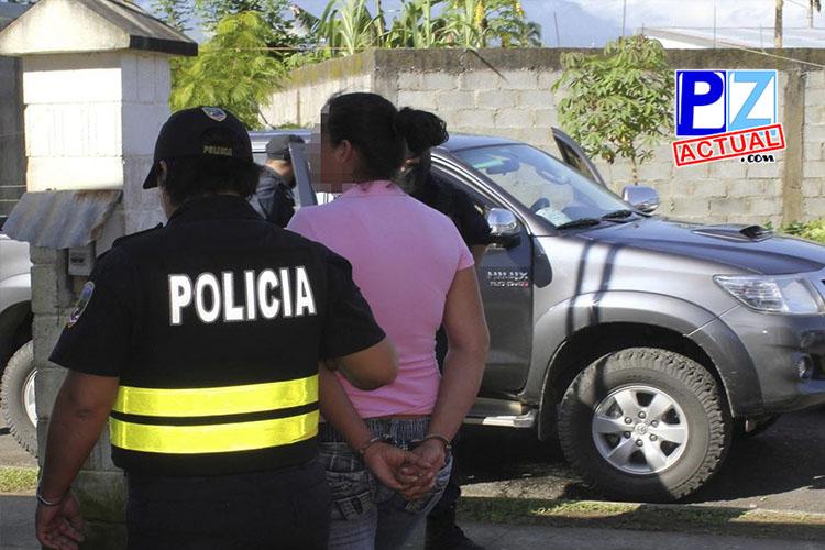 Detienen a mujer por intentar degollar a otra durante riña en San Isidro de El General.