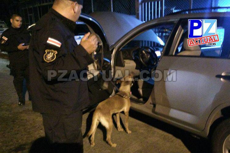 Fuerza Pública detiene a sujeto con orden de captura y dos más por drogas en la Zona Sur.