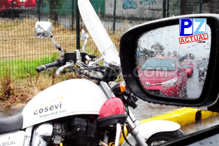 Policía de Tránsito solicita a usuarios conciliar en caso de choques leves.