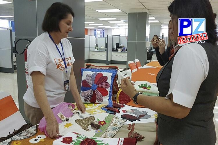 Banco Popular promueve la Feria de Personas Artesanas con Discapacidad.