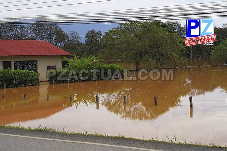 CNE declara Alerta Amarilla en el Pacífico Sur y Central