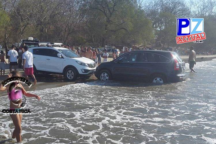 Conducir vehículos en las playas implica una multa de más de ¢52.000.