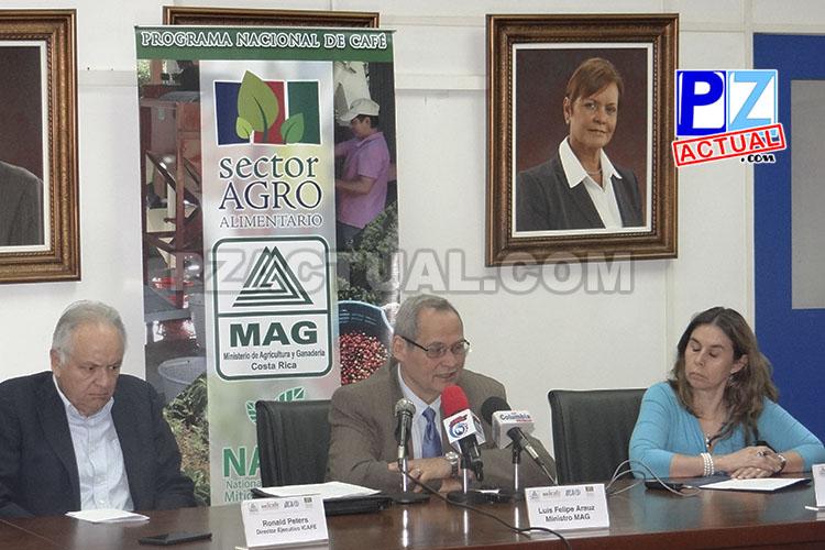 MAG, ICAFÉ e IICA no bajan la guardia www.pzactual.com