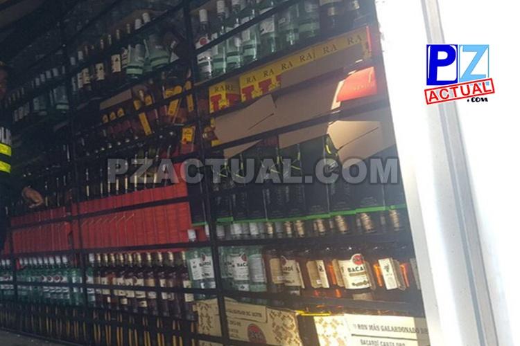 """Fuerza Pública intercepta """"licorera móvil"""" en Ciudad Neily."""