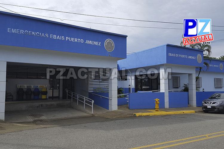 EBAIS de Puerto Jiménez ofrece los primeros auxilios a pacientes críticos.