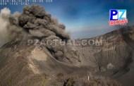 Costa Rica con vigorosa organización ante erupciones volcánicas.