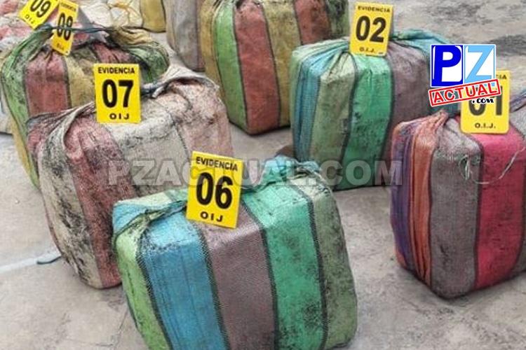Sospechosos de transportar 569 kilos de cocaína cumplirán seis meses de prisión preventiva.