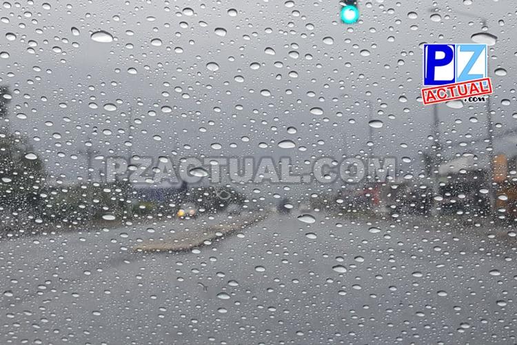 Condiciones lluviosas fuertes continúan en el país.