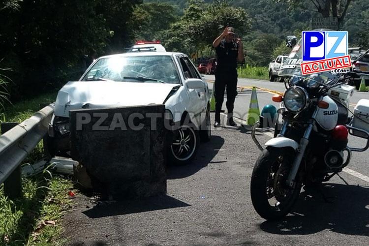Oficial de tránsito cumple medidas cautelares en proceso penal por presunto homicidio.