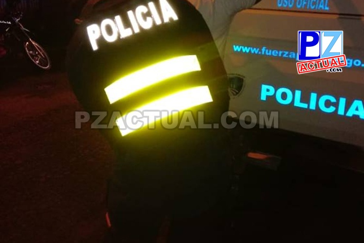 Policías de Pérez Zeledón aprehenden a padre e hijo quienes viajaban con carga de droga en vehículo