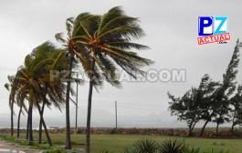 Semana inicia con condiciones ventosas en el país.