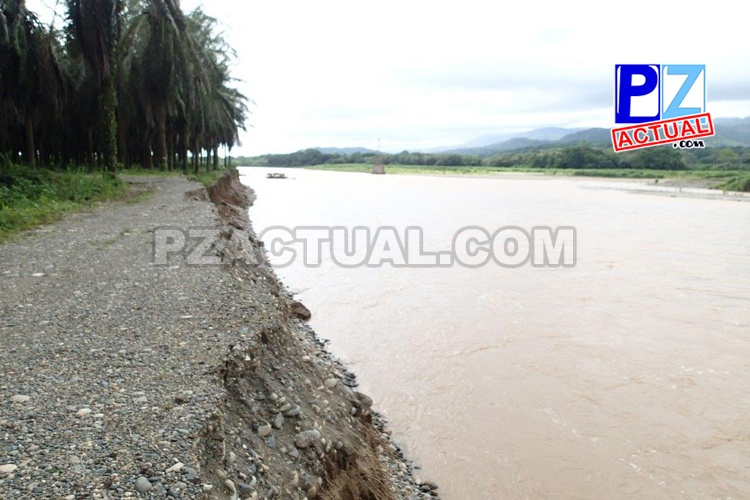 Arrancan obras para reconstruir el dique de Térraba.