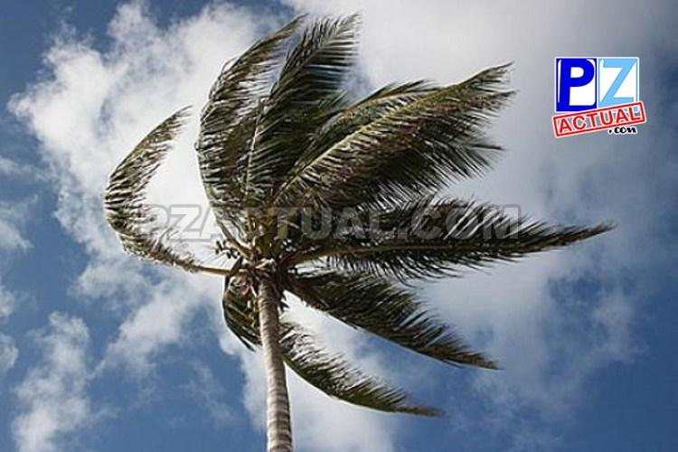 Empuje frío no. 20 provoca aumento del viento en el país.