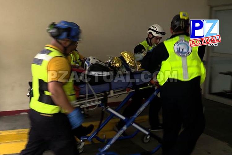 Fallece bebé que cayó a cuneta mientras andaba en una andadera en Osa.