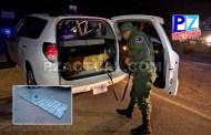 Policía de Fronteras detiene en Golfito a dos sospechosos de transportar 60 kilos de droga.