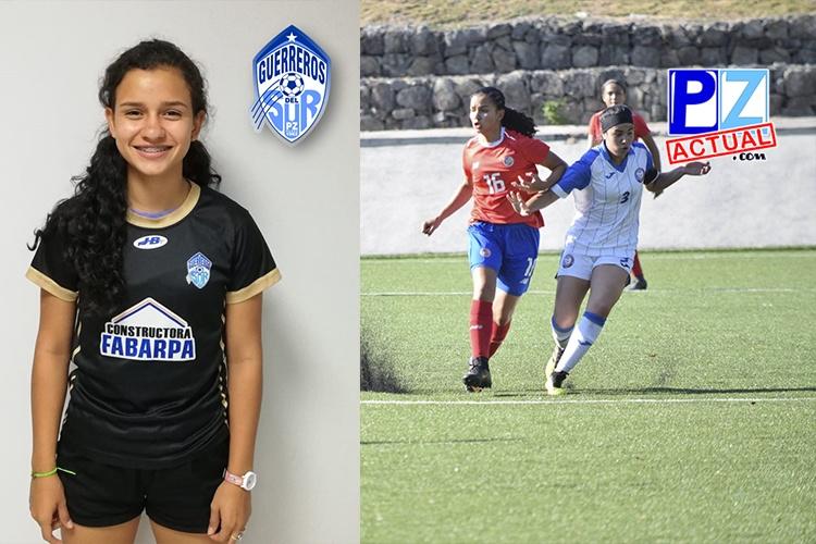 Joven generaleña cosecha triunfos junto a la Selección Nacional Femenina Sub-16.