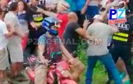 Fuerza Pública detuvo cuatro personas durante manifestaciones en Pérez Zeledón.