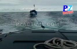 Guardacostas de Quepos rescataron a pescadores tras naufragar y quedarse dos días a la deriva en el Pacífico Sur.