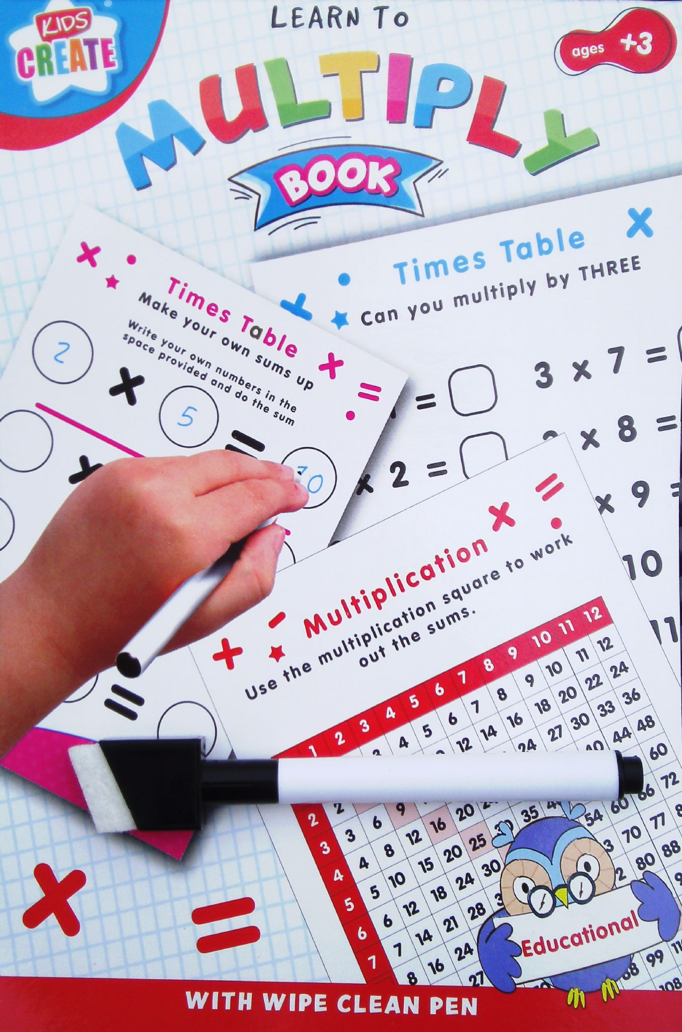 Learn To Educational Wipe Clean Times Tables Worksheets