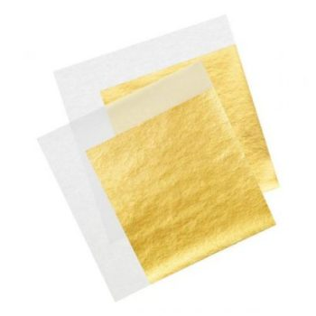 24K Gold Leaf Anti-Wrinkle Facial Mask
