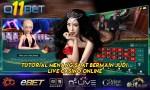 Tutorial Menang Saat Bermain Judi Live Casino Online