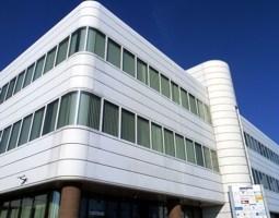 Eingang Bürogebäude Kaufbeuren Innovapark