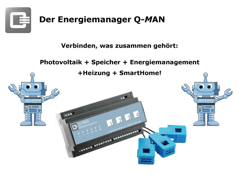 Energiemanager Q-MAN
