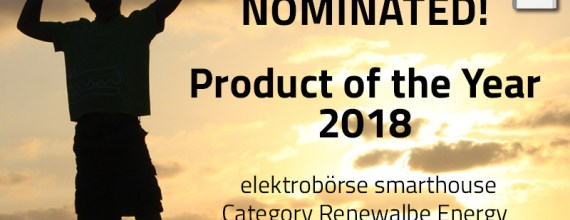 Synchronverter nominated product of the year 2018!