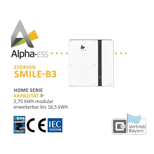 Alpha Storion Smile B3 Vertrieb Bayern
