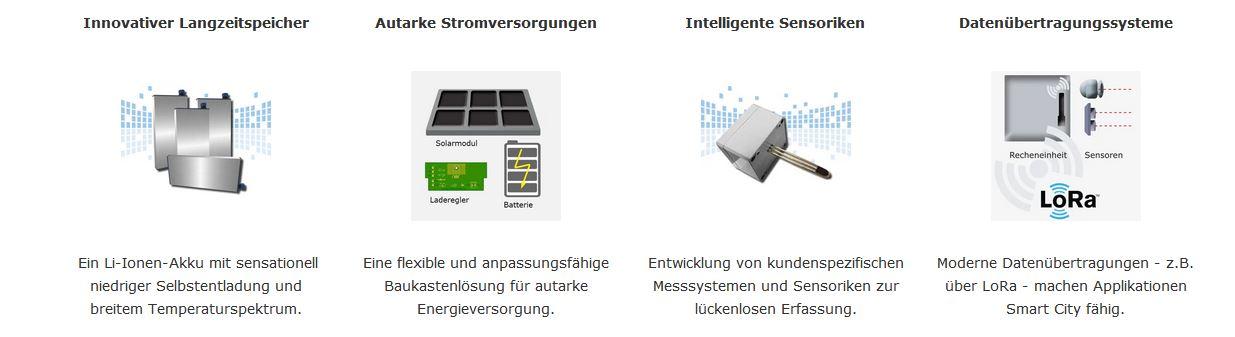 Q3 Referenzen - stark in Stromversorgung, Sensorik, Datenübertragung ...