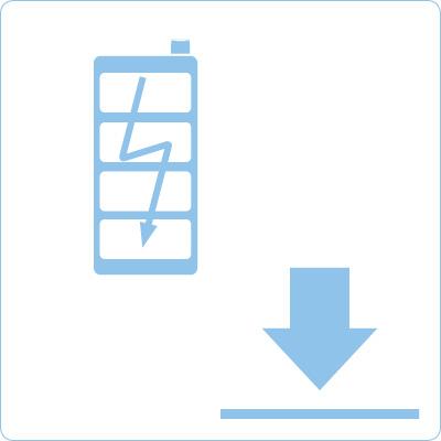Downloadbereich Langzeitbatterie