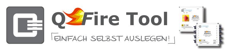 Feuerwehrschalter PV Anlage QFire Tool Auslegung Generatorfreischaltung