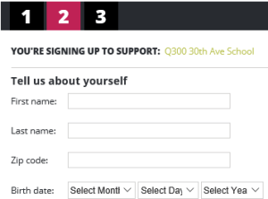 Box Top Registration - Your Name