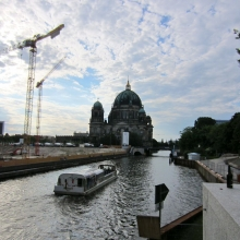 Berlin Cathedral and Construction of Former Palace