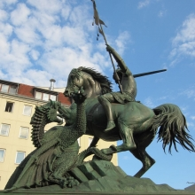 Berlin - St George Slays the Dragon
