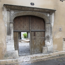 Entrance to the Bishop's Home in Troyes - 1500s AD