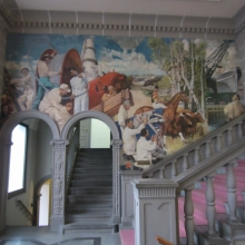 WTO Mural: Honoring Labor