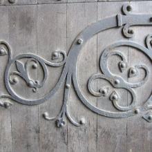 Cathedral Door Iron Work