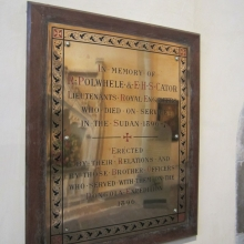 Dongola Expedition Plaque