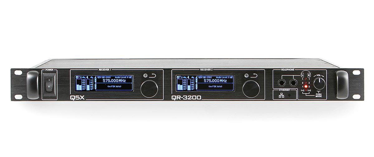 qr 3200 rack mount receiver