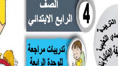 Photo of تدريبات مراجعة للوحدة الرابعة القسمة رياضيات للصف الرابع إعداد سلوى شهاب 2018-2019